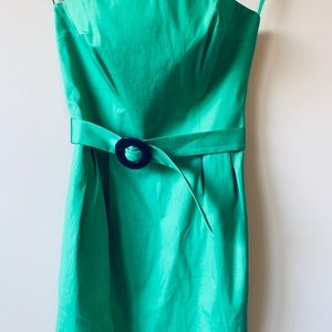 French Connection Green Summer Dress